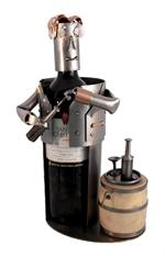Sommelier Metal Wine Bottle Holder Professional Metal Wine Caddys