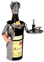 Waiter Metal Wine Caddy Professional Metal Wine Caddys